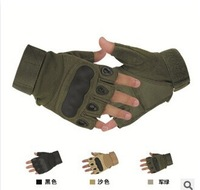 Outdoor Sports Fingerless Military Tactical Airsoft Hunting Cycling Bike Gloves Half Finger Gloves(SG-007)+Free Shipping