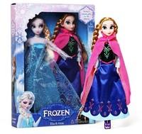 2014 Frozen Anna Elsa Baby Doll Frozen Princesses baby Figures Da Frozen Toys Set Boneca Frozen brinquedos bonecas for girl kids