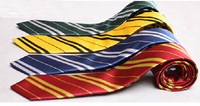 Harry Potter Fashion Movie Fans' Favorite School Unisex Striped Gryffindor /Slytherin/ Hufflepuff / Ravenclaw Cospaly Neck Ties