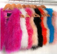 2014 New Fashion Women Autumn Winter Top Real Ostrich Fur Vest Short Sleeveless Coat Jackets Ladies Casual Elegant Clothes B1206