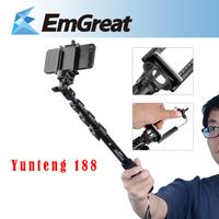 Handheld Extendable Self Camera Monopod Yunteng 188 Selfie Stick Tripod Para Selfie For Iphone Samsung CellPhone Camera P0015971