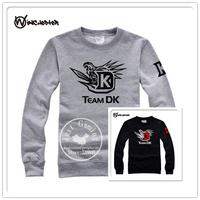 DOTA2 DK Game team long sleeve hoodie Men Sweatshirts autumn casual man hoody sport jacket sweatshirt men moleton sport suit