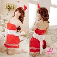 Princess Fitted Uniform, Sexy party bunny rabbit bar uniform temptation nightclub Christmas costume stage costumes