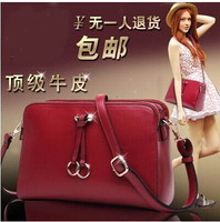 Free shipping 2014 ms restoring ancient ways the new leather fashion bag on sale one shoulder aslant cowhide female bag