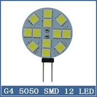 1x LED Lamp 5050 SMD Mini G4 12V Chandelier Crystal 12LED Light Home Reading RV Marine Boat Corn Bulb Cabinet Car Interior Lamps