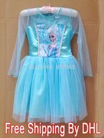 Frozen Dress vestidos de menina Princess Elsa Dress 2014 NEW Summer dress for 2-8ages vestidos infantis