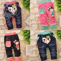 0-3 Year Girl pant Korean female children imitation jeans brand children's clothing pants baby girl pants