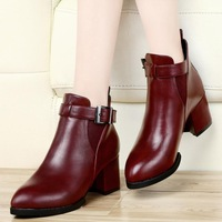 Guciheaven new winter women's boots, thick leisure Martin boots,female boots,Fashion sexy shoes