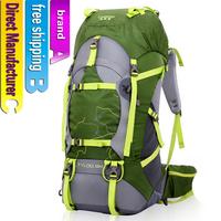 55L Fashion Waterproof Men hiking Bags women Backpack Sport duffle Bag unisex Gym Bag Camping bag Free shipping