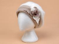 Hot Style 2014Genuine Rex Rabbit Fur Hat Knitted Rabbit Fur Cap Real Rabbit Fur Headwear Winter Warm Womens Hat  Free shipping