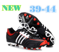 New Style 2014 Top-quality TF Outsole Men's Soccer Shoes, AG AOutdoor Football Boots PU Football Shoes Size 39-44 Free Shipping