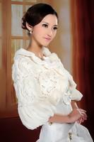 Fashion Wedding Fur Coat 2013 Winter Bridal Jacket Shawls for evening Dresses Wedding accessories 2013 New Design
