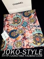 MNOROC brand new winter fashion retro baroque totem Velour large shawl scarf women free shipping ft12