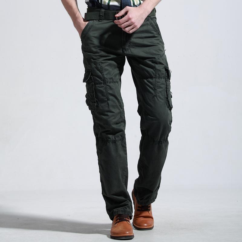 Khaki Cargo Pants Men 2014 Men 39 s Brand Cargo Pants