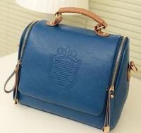 Hot! New2014  Women'S printing Candy Color Handbag Vintage Fashion One Shoulder Small Bag Messenger Bag
