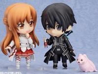 Sword Art Online Q Model Action Figures Kirigaya kazuto Figure In Stock 10cm Tall In Stock