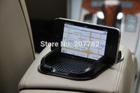 Black Car Dashboard Sticky Pad Mat Anti Non Slip Gadget Mobile Phone GPS Holder Interior Items Accessories