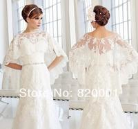 High Quality 2014 The bride bridesmaids Wedding dress Wedding Accessories Bridal shawl + Free shipping