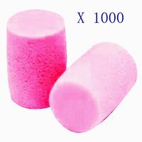 1000Pcs 3M E-A-R Classic Foam PP-01-002 Ear Plugs Pillow Pack Uncorded Various Quantity