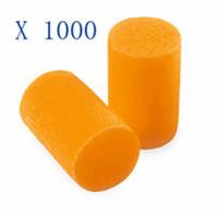 1000Pcs Plugs-3M 1100 Disposable Ear Plugs Foam Noise Reducer