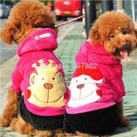10pc/lot  2014 Fashion Winter  PET dog coat  Christmas prince princess  hoody jacket  jumpers clothes very cute XXS-L JPC913.10