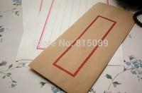China Ancient Style Kraft Paper Letter Envelope Gift bag Storage Bag 22*11cm Free Shipping