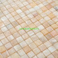 Cloud of ShangTianRan beige stone Mosaic puzzle spot sale wholesale flower setting wall manufacturer