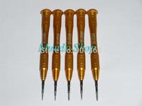 Golden Precision screwdriver set Phillips / Slotted /Torx/ Hex/Pentalobe iPhone screw driver for Apple iPhone Macbook Air