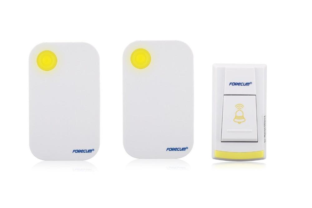 Remote Wireless Door Chime Alternating Doorbell Waterproof Door Bell 2Receiver with 1Transmitter Free Shipping(China (Mainland))