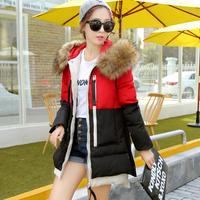 winter coat women down jacket overcoat parka womens down-jacket down coat fur collar jacket with fur duck down jacket women
