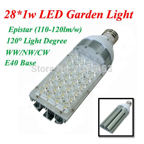 AC85-265V E40 28w LED Street Light in fixture for Road Path Street lighting Epistar 120lm/w 3years warranty retrofit HPSL(China (Mainland))