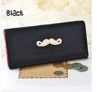 The wind restoring ancient ways is long wallet bag Wholesale women's personality beard wallet wallet in hand Han edition wallet