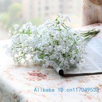 100 PCS Beautiful Artificial Gypsophila Silk Flowers Home decoration F161