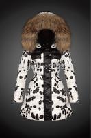 Winter Jacket Women Coats Thick New 2015 Winter Coat Women Down Parkas Large Raccoon Fur Collar Hooded Coat Woman Down Jacket