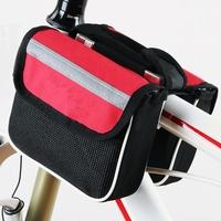 2 pcs/Lot _ Mountain Bike Bicycle Sport Frame Front Tube Double Sides Saddle Bag
