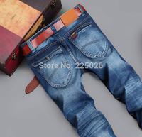 New 2014 Free Retail Fashion High Quality Nostalgic Blue Cotton Mens Jeans Men Jeans True Jeans Breathable Sports Travel 28-40