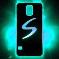 For Samsung Galaxy S5 Case Calling Sense LED Flash Light Bling Cover Calling Flash Fashion Aluminum Skin Hot Sale Wholesale