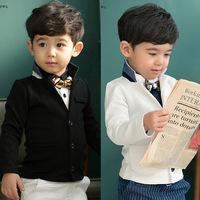 2014 Autumn stylish children's clothing wholesale Cotton Bear Suit  children's clothing child sports suit pants suit