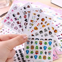 24 pcs High quality cartoon monster nail stickers nail sticker 3D nail decals KT Series