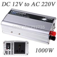 1000W  DC12V to AC 220V Portable USB Car Power Inverter Adapter Charger Voltage Converter Transformer Universal