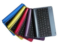 For apple iPad mini - 4.0A Recharegable Aluminum Wireless Bluetooth Keyboard Case Cover