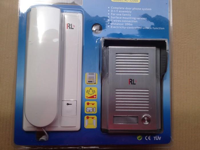 3206b разблокировать внутренней проводной Интерком дверь домофон с перетащить Телефон