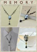 Weinstein handmade all-match cat vintage necklace long necklace design