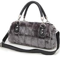 Women's Genuine Rabbit Fur Balls Chain Handbag ladies Fashion Charm Shoulder Bags Fur Balls Chain Handbag ladies Hot sale 2014