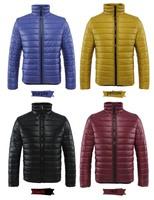 Hot Sale 2014 Winter Men's Down-Jacket For Couple Winter Colorful Jacket Men Parka Outdoor Warm Coat Size S-XXXL 8colors