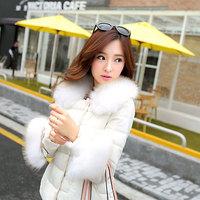 winter coat women parka winter down jacket fur collar women down coat duck down jacket women coats winter fashion 2014
