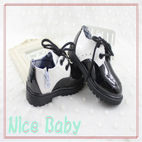 2014 Fall Fashion Baby Shoes, Patent Leather Mixed Colors 1-2-3 Year old Baby boy and girl First walkers N-0108