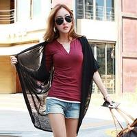 The new women's warm v-neck long-sleeve render unlined upper garment