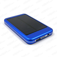 Good enough 6000 mAh Portable Thin Travel Battery Charging Panel Solar Charger Power Bank for iPhone 5/4S/4 Samsung