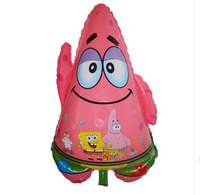 49*75cm Lovely Patrick Star Balloon Cartoon, Shaped Helium Baloes for Baby Party Decor